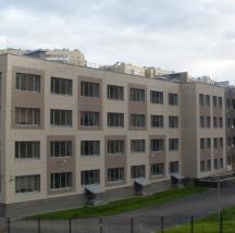 Общеобразовательная школа на 33 класса (825 мест) с двумя плавательными бассейнами,  г. Санкт-Петербург,  Ленинский пр. 80