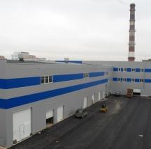 Складской комплекс площадью 13500 м2 на Пулковском шоссе, г. Санкт-Петербург  Общестроительные работы.