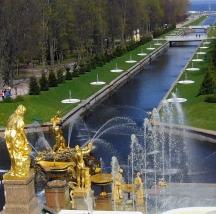 Реставрация фонтанной аллеи у Морского канала. г. Петергоф