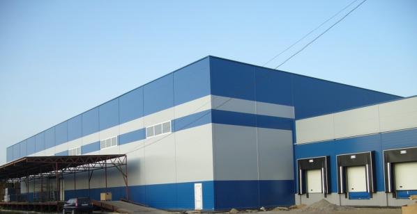 Складской комплекс на промзоне «Парнас»