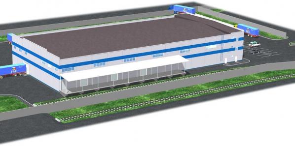 Проектирование складского комплекса Колпино
